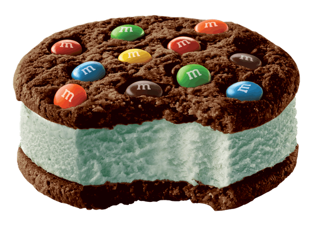 Here's where to buy M&M's Mint Ice Cream Cookie Sandwiches for a new take on dessert.