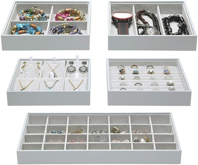 ORIGIA Stackable Jewelry Trays (5 Pieces)