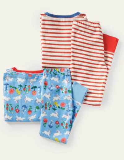 Twin Pack Long John Pajamas