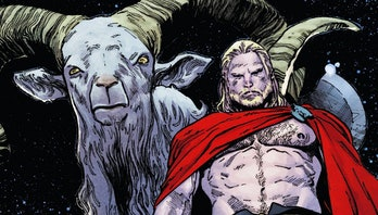 Toothgnasher and Thor in the Marvel Comics