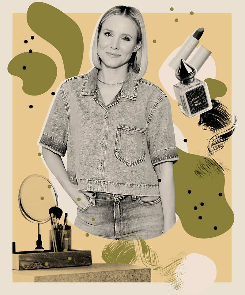 Kristen Bell's favorite skin, hair, and makeup products.