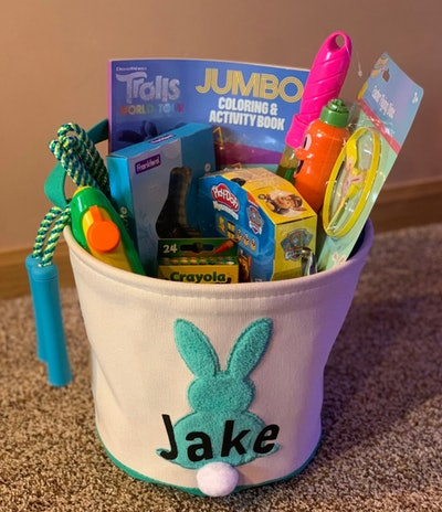 Personalized Pre-Filled Easter Baskets