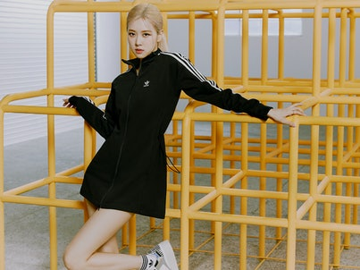 Rosé in Adidas' Watch Us Move campaign