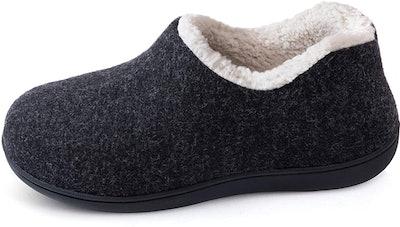 Ultraideas Cozy Memory Foam Closed Back Slippers