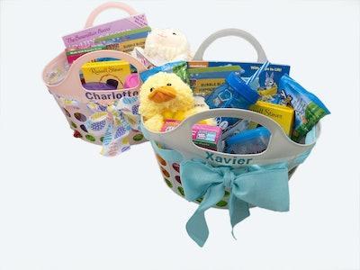Filled Easter Basket For Toddler