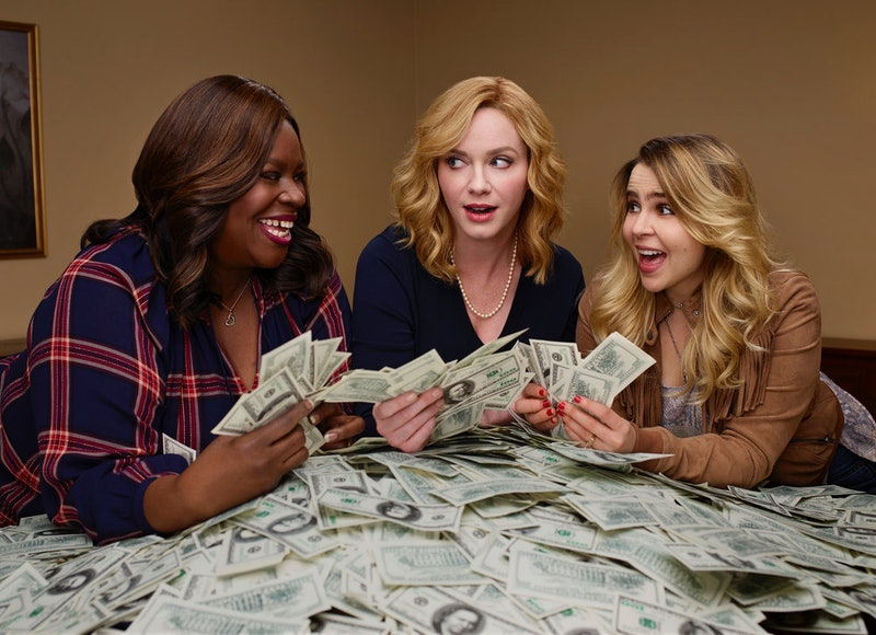 Beth, Ruby, and Annie on Good Girls via the NBC press site