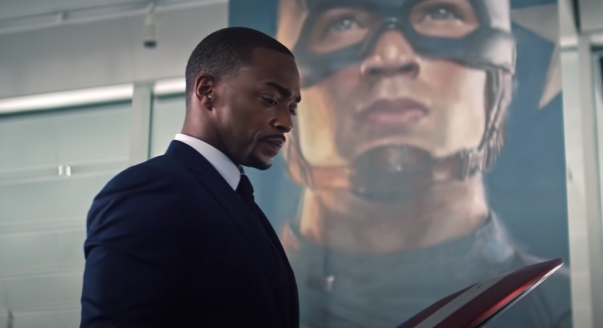 Anthony Mackie in 'The Falcon and the Winter Soldier.'