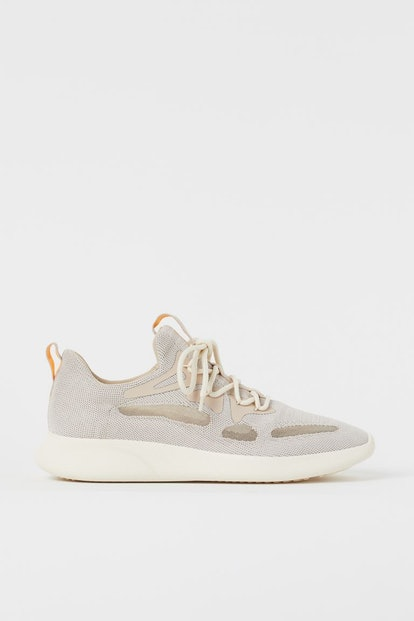 Fully-fashioned Sneakers, Light Beige