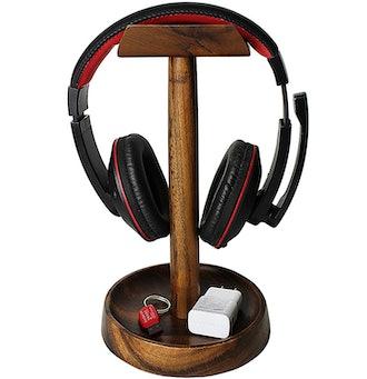 Wrightmart Wooden Headphone Stand