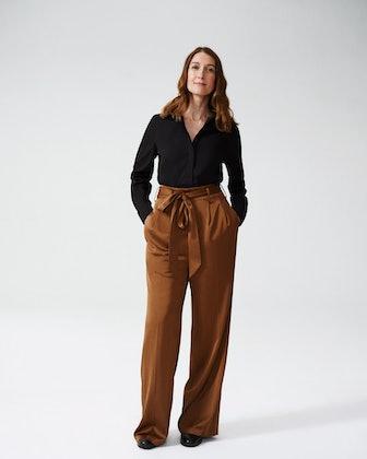 Tresa Wide Leg Tie Pants