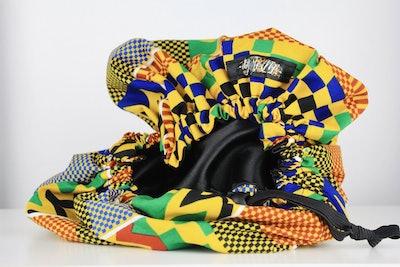 Abena Satin-Lined Adjustable Bonnet