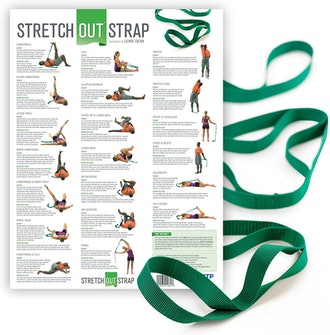 OPTP Stretch Out Strap with Exercise Poster