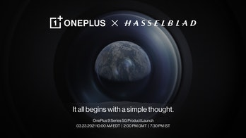 OnePlus and Hasselblad announce 3-year camera development partnership for new phones starting with OnePlus 9 series