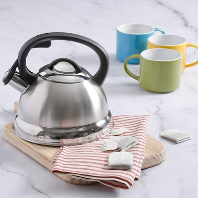 Mr. Coffee Whistling Tea Kettle, 1.75 qt.