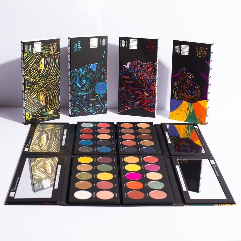 UOMA Beauty's eyeshadow palette