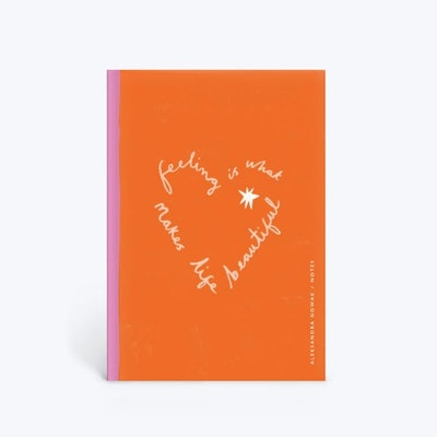 Limited Edition Notebook in Tomato