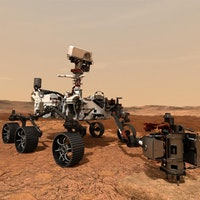 NASA's Mars 2020 rover takes its first test drive