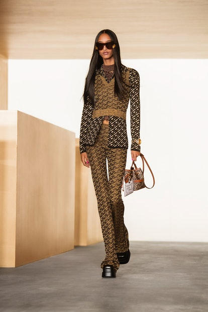 Versace's Fall/Winter 2021 Collection featured a bold new print.