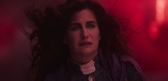Kathryn Hahn as Agatha Harkness in the WandaVision finale