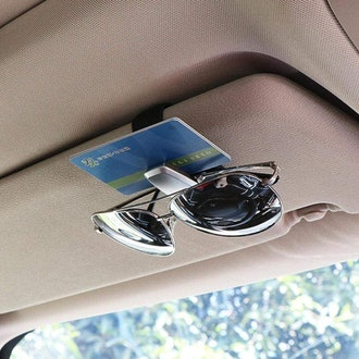 AUXMART Car Visor Sunglasses Holder