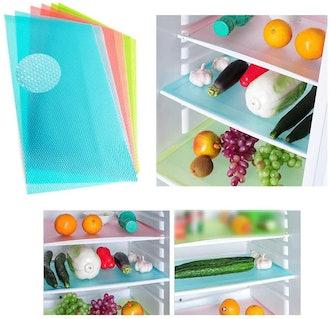 Szsrcywd Washable Refrigerator Mats (6 Pack)