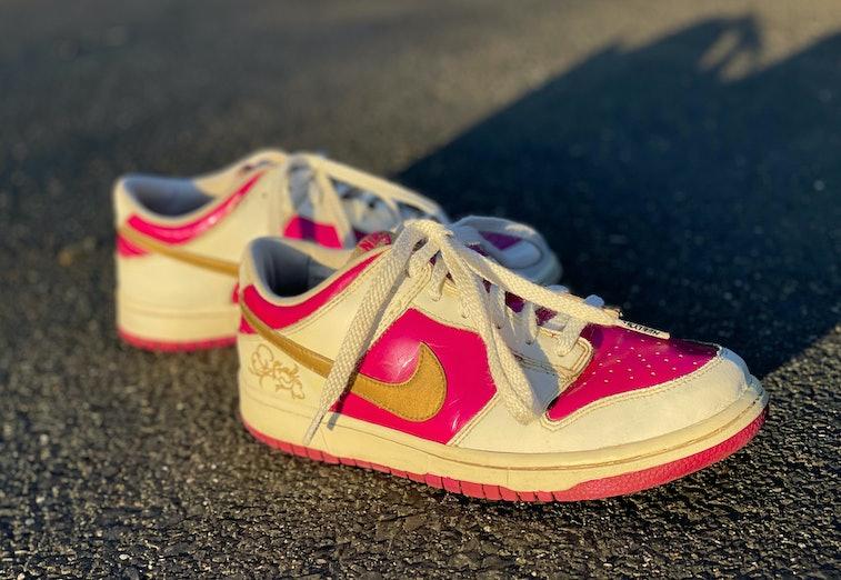 "Nike 2005 Dunk Low ""Rave Pink Gold"""