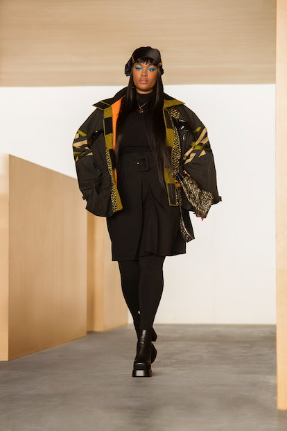 Versace debuted a new print in its Fall/Winter 2021 collection.