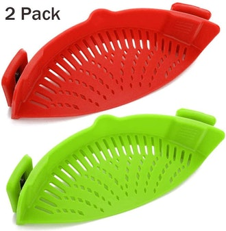 AIFUSI Clip-On Strainer (2 Pack)