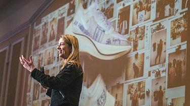 Ann Hebert Nike sneaker reselling