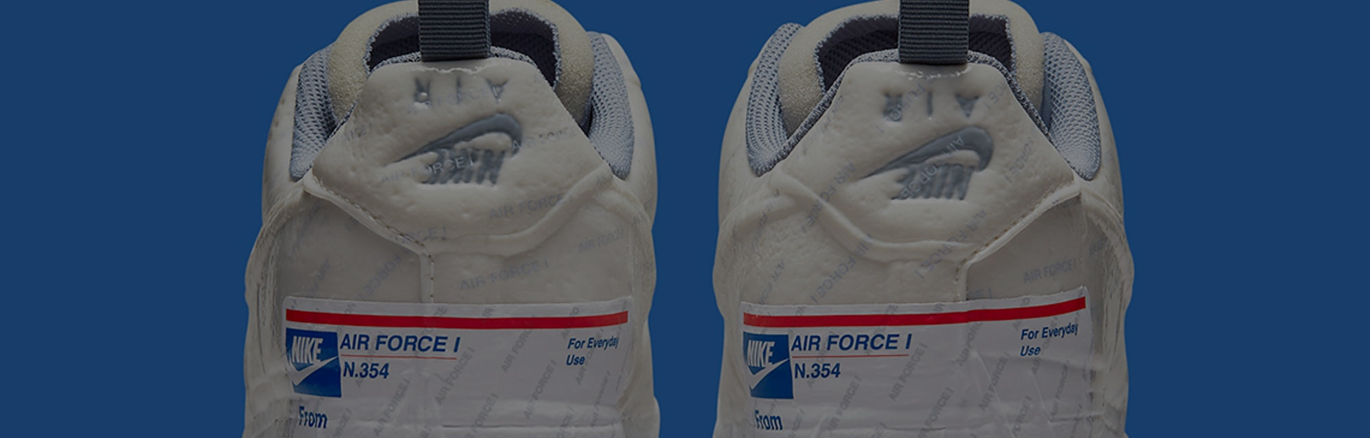 AIR FORCE 1 LOW EXPERIMENTAL 'PARCEL SERVICE'