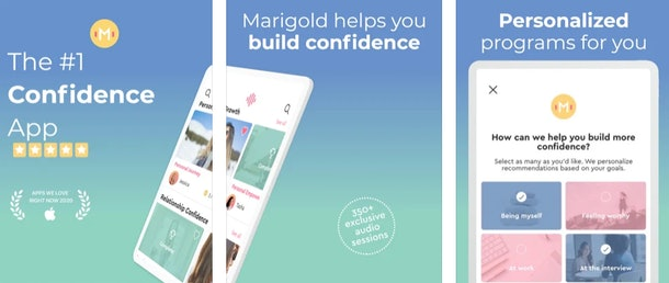 These apps created by women feature self confidence apps and more.