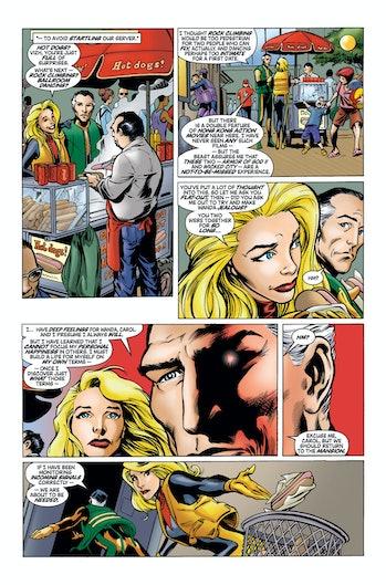 Avengers Vision Carol Danvers