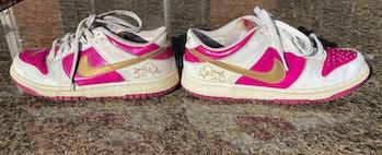 "Nike 2005 ""Rave Pink Gold"" Dunk Low"