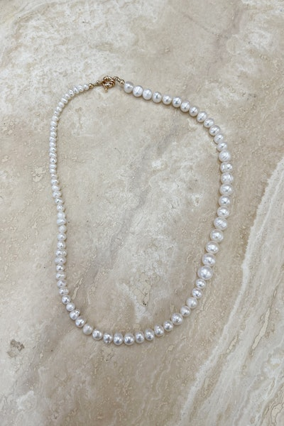Bright Idea Pearl Necklace