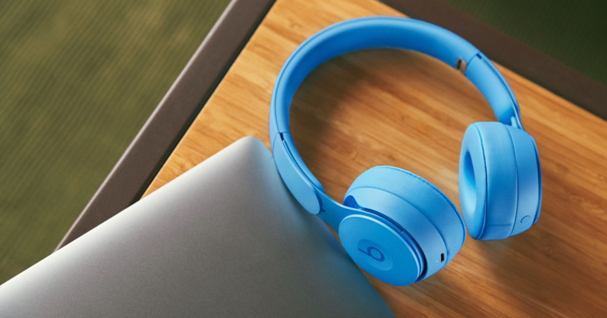 These Beats headphones with ANC and 22-hour battery are nearly 50% off right now