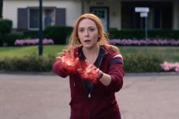 Elizabeth Olsen as Wanda Maximoff in WandaVision.