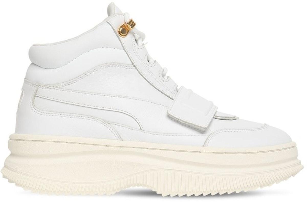 Puma Deva Boot Sneakers with Strap in White