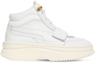 Puma Deva Boot Sneakers with Strap in White