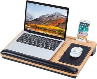 MIZUSO Lap Desk with Mouse Pad and Phone Holder
