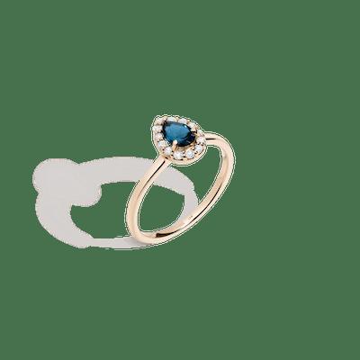 Vintage Pear Cut Ring