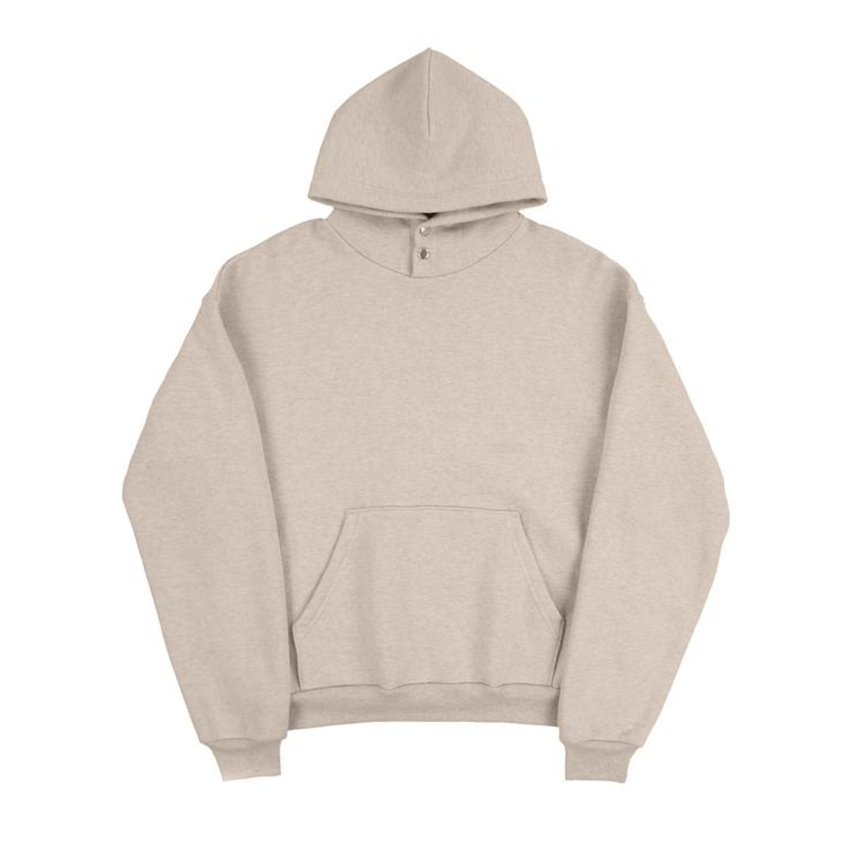 Snap Hooded Sweatshirt