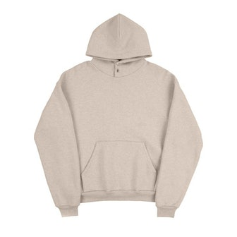 Snap Hooded Sweatshirt