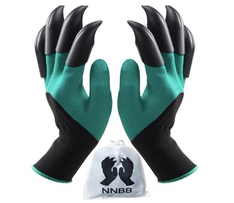 NNBB Garden Gloves with Fingertips Claws