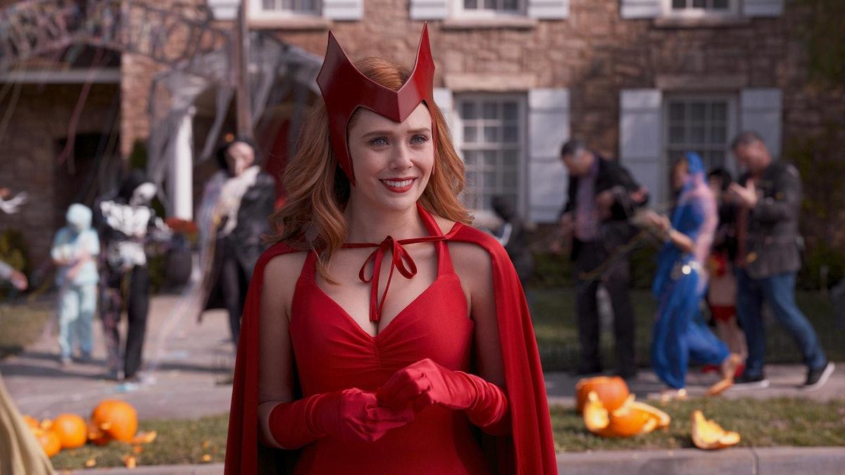 Elizabeth Olsen as Halloween Scarlet Witch