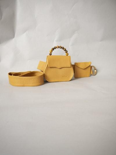Mini Belt Bag in Camel