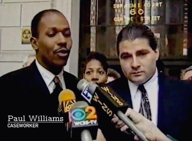 Archival footage of Paul Williams from 'Allen v. Farrow'