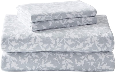Laura Ashley Home Flannel Collection Sheet Set