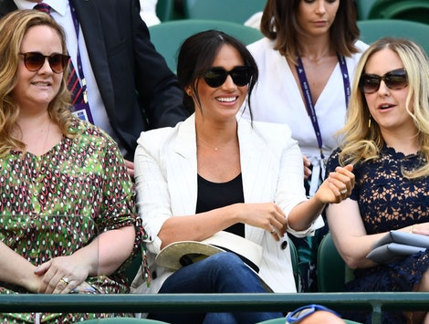 Meghan Markle and her friends Lindsay Roth & Genevieve Hillis