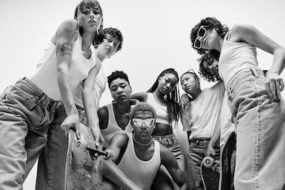 Queer Skate LA stars in Calvin Klein Spring/Summer 2021 Campaign.