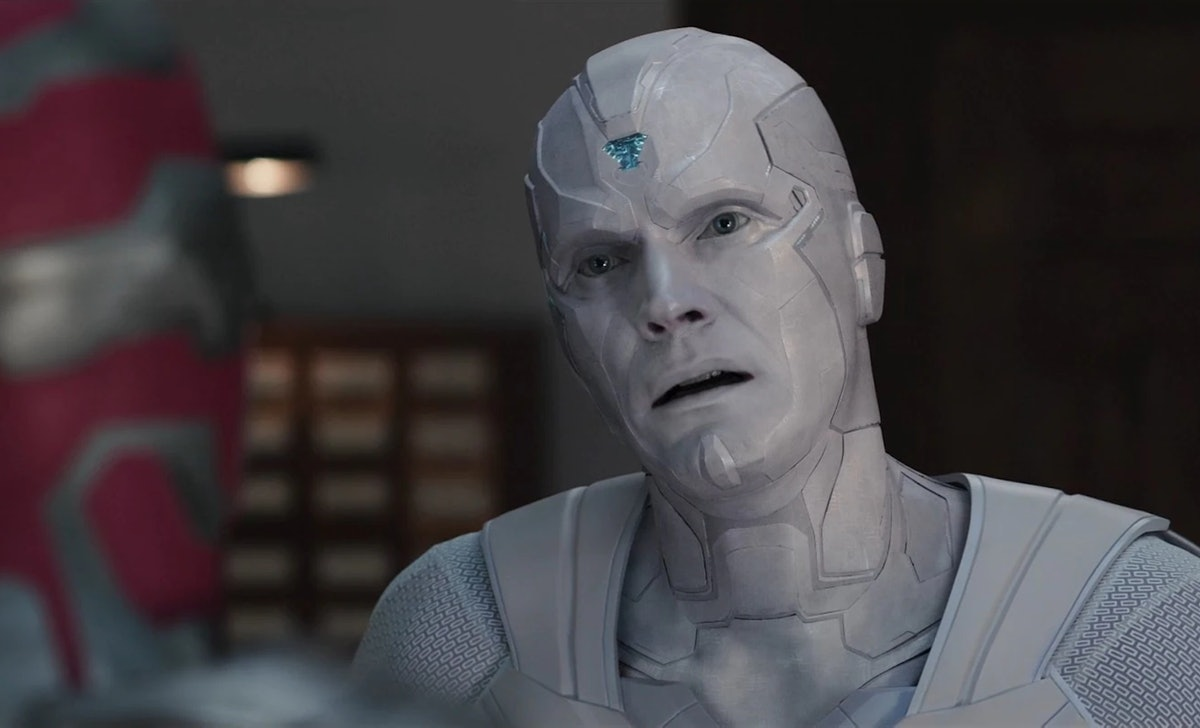 Vision used the ship of Theseus thought experiment to stop White Vision from attacking him in the 'W...